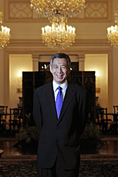 Singapore Prime Minister Lee Hsien Loong by Singapore Portrait Photographer