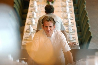 Celebrity Chef Gordon Ramsey by Singapore Portrait Photographer