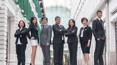 Group Photography of Board of Directors of Shenton Wealth.