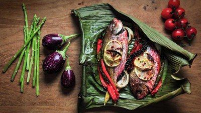 food photography, food styling, food photographer, cooked fish, Alan Lim