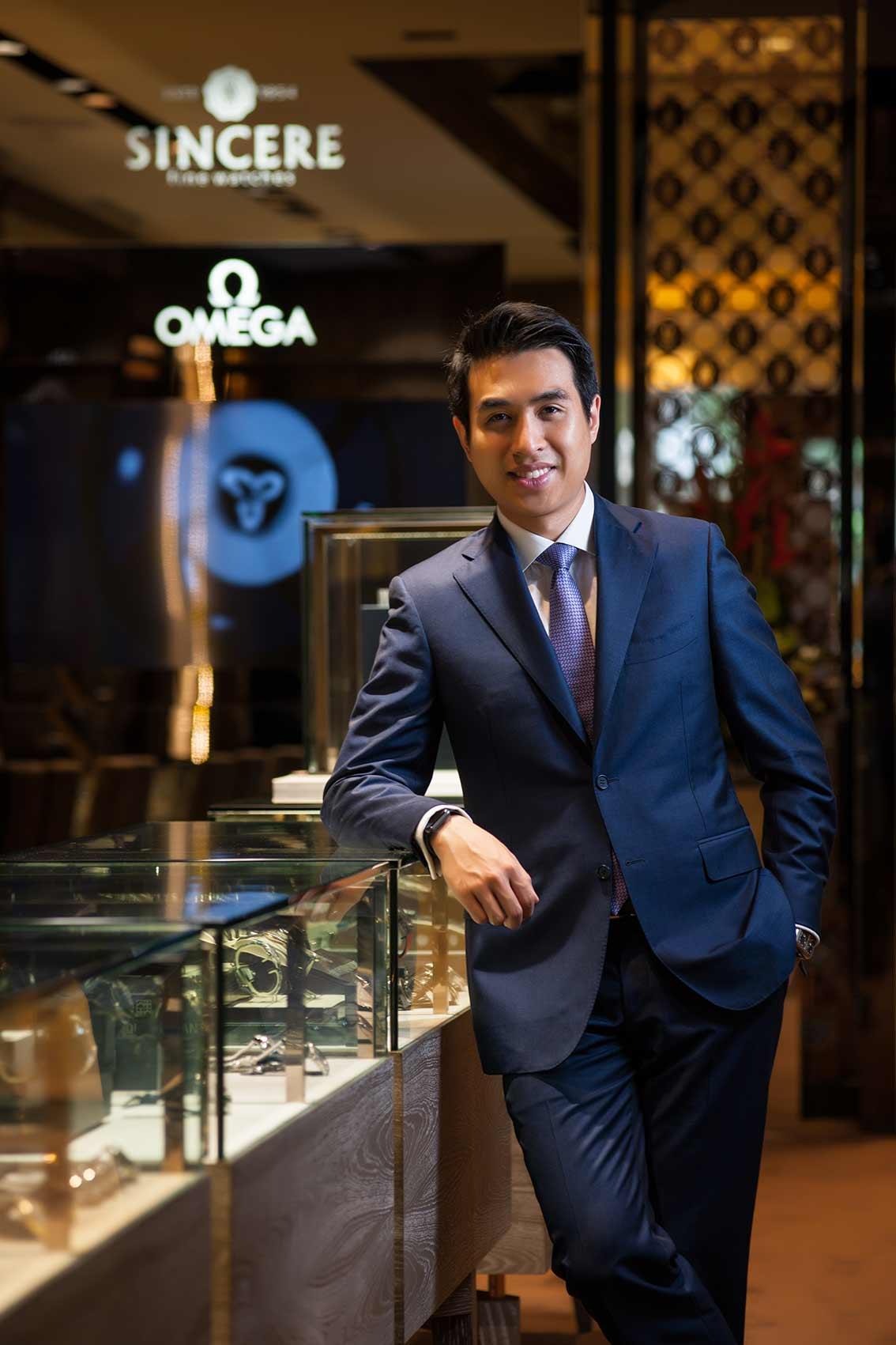 Kingston Chu, Sincere Watch, Portrait in Singapore