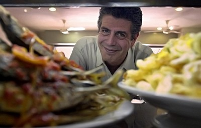 Celebrity Chef Anthony Bourdain by Singapore Portrait Photographer
