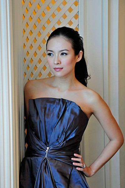 Actress Zhang Zhiyi by Singapore Portrait Photographer