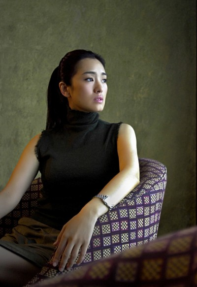 Actress Gong Li by Singapore Portrait Photographer