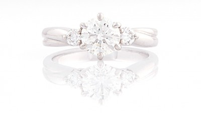 Diamond jewelry Ring Photography
